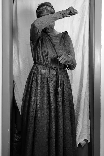 Don't blink! Costume Weeping Angel Don't Blink Dr Who Halloween EyeEm Selects One Person Real People Clothing Indoors  Adult Women