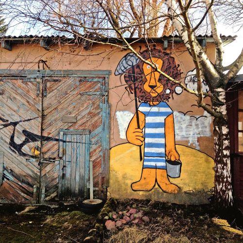 Autumn Graffiti Old Buildings EyeEm Diversity