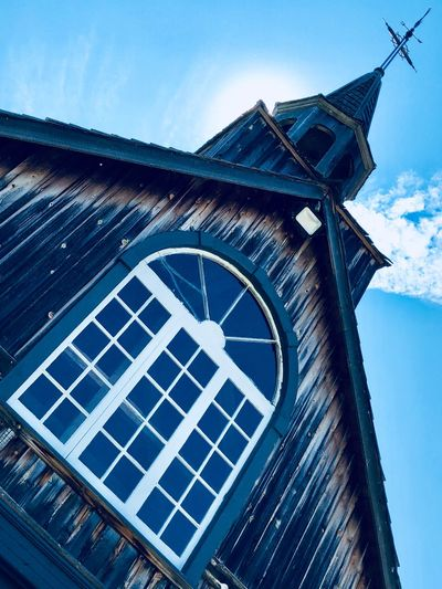 Sky Low Angle View Built Structure Architecture Building Exterior Nature Day Religion No People Belief Time Building Spirituality Clock Place Of Worship Tower Minute Hand Cloud - Sky Outdoors Clock Face