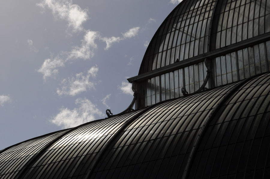 Botanical Gardens Architecture Building Exterior Built Structure Cloud - Sky Day Greenhouse Kew Gardens, London Low Angle View No People Outdoors Sky Victorian Architecture The Graphic City