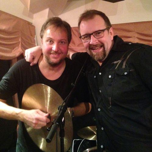 My drummer man with ABBAs drummer ABBA The Drummer Rock'n'Roll