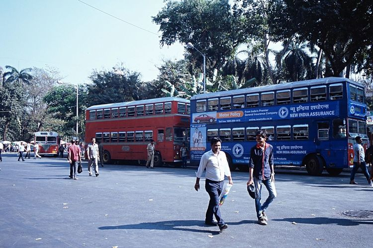 Leica 35mm Film Doubledeckerbus India Mumbai Streetphotography