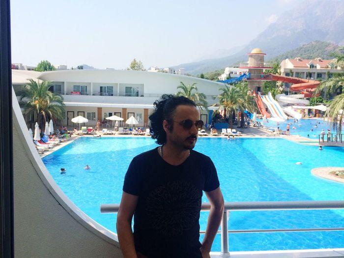 Tatil Havuz Gunes Club Kemer Antalya Kum Turkey