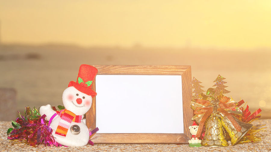 Snowman, frame