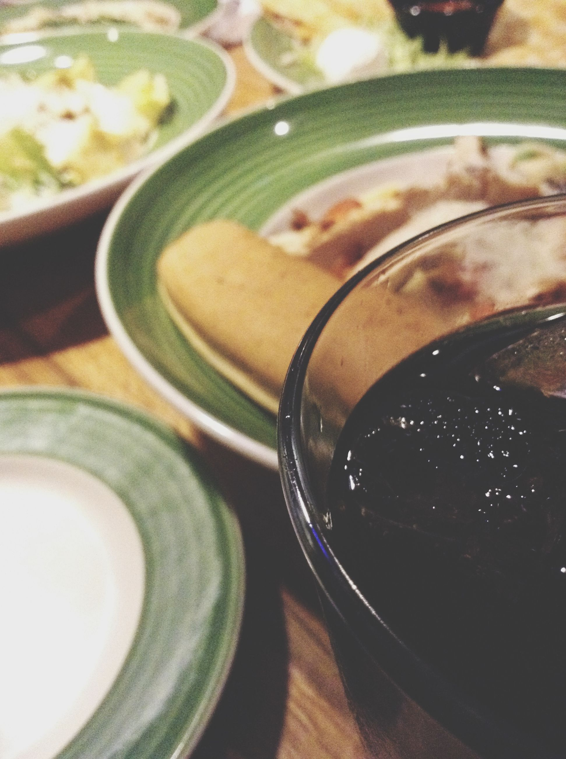 indoors, food and drink, table, drink, still life, close-up, refreshment, freshness, drinking glass, high angle view, glass - material, selective focus, focus on foreground, food, spoon, healthy eating, no people, bowl, coffee cup, transparent