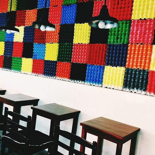 A perfect place to study. DIY Room Decor Table Chairs Lamps Sunday Summer COMFORTZONE Minimalist Colorful City Life Peaceful Philippines CDO Style First Eyeem Photo