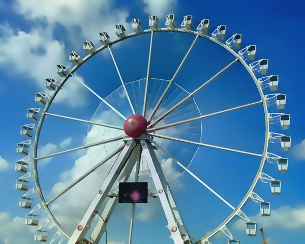 Ferris Wheel Funfair Hamburg Hafencity First Eyeem Photo EyeEm Best Shots EyeEmBestPics Colorful Hello World Jopesfotos - Urban