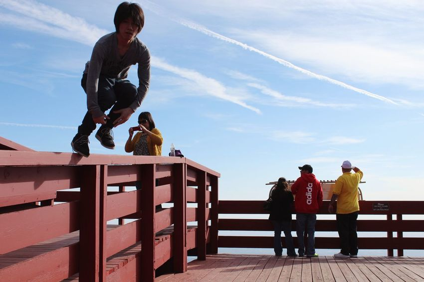 Was In New Mexico in 2013. TBT  New Mexico Flying Jumping Jump Yutaman Yuta