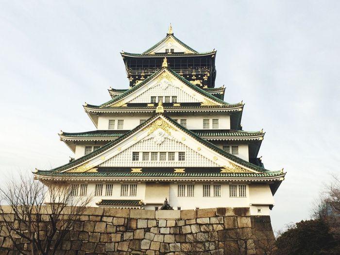 大阪城 OSAKA