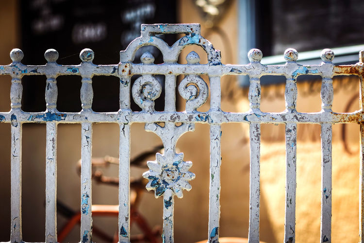 Fence Willowmore Decorative Gate Karoo Metal No People Outdoors Security Bar South Africa Street Street Photography Streetphotography Wrought Iron