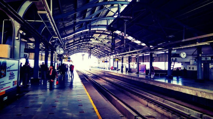Everyday Joy Metro Starting A Trip Traveling Boarding