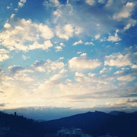 Sabah vakti ... Tunceli Dersim Gundogumu Bulutlar silüet
