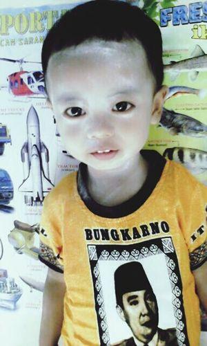 My lovely son.. EZIO Mc.KHENZIE KURNIAWAN..