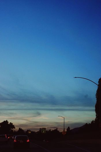 LA traffic Los Angeles, California Sunset Sky Traffic first eyeem photo