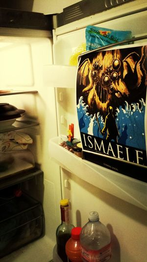 Fridge surprises. Ismaele Comics Fumetti