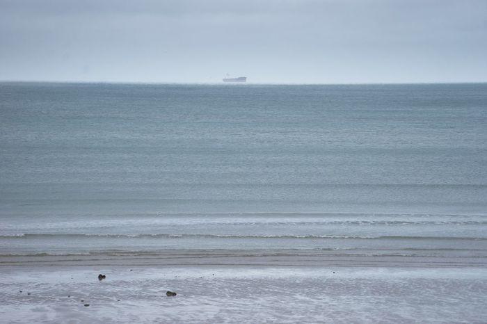 Bridge Coastline Foggy Day Ocean Pastel Power Photography Sea Sea And Sky