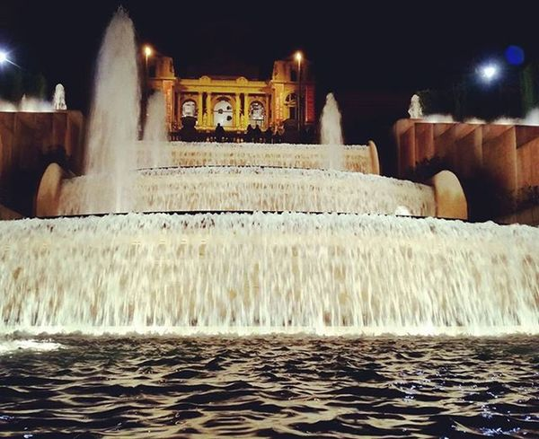 Plaça de les cascades Barcelona Waterfalls City Cityscape Ilovebarcelona España