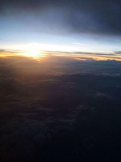It's Going down PlaneRide fourth  Nature Photog ArtsyMartsy Check Bettertogether Plane Sundown Sunset