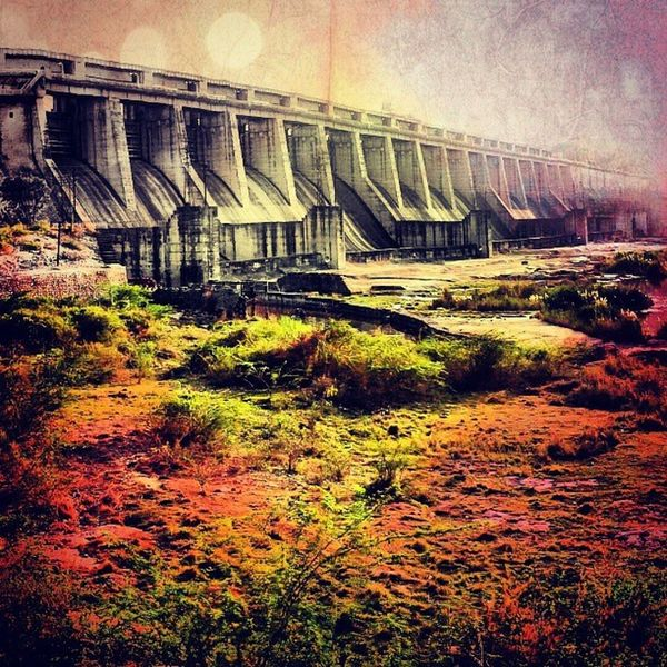 Hydropower Dam Chambal River Rajasthan Instalife Fascinating Beautiful Edited Travel Instagram Photography Attractive Awesome Amazing Sunset Freakout Fabulous Garden Landscape Colourful Valleys Natural Nature