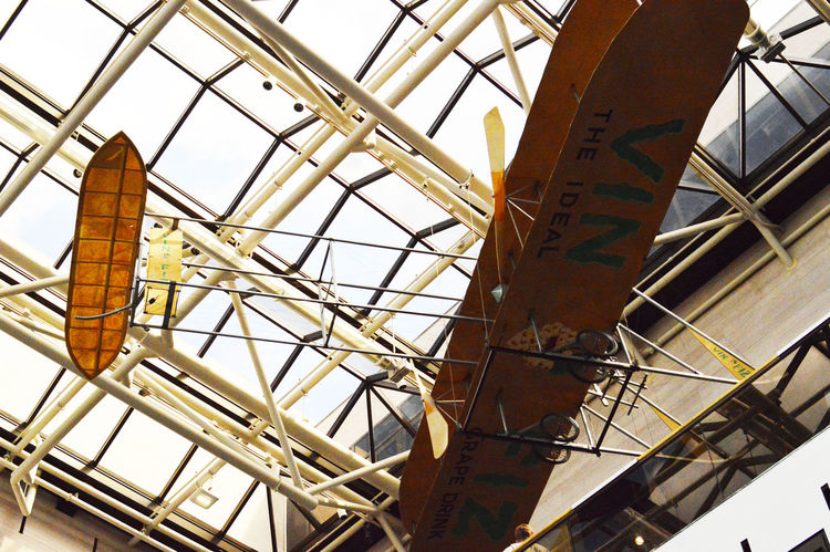 national air and space museum American History First In Flight Glider Historic History Low Angle View Wright Brothers
