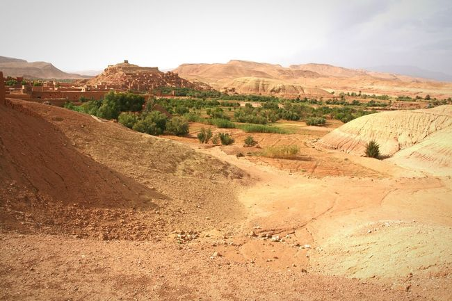 Desert Travel Nature Landscape Outdoors Sky No People Scenics Mountain Day Beauty In Nature Travel Nature Ait-Ben-Haddou Ait Ben Haddou - Unesco Morocco