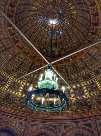 ceiling of old Illuminated Dome Architecture Built Structure Skylight Chandelier Architectural Feature Architecture And Art Light Fixture Architectural Design Architectural Detail Hanging Light