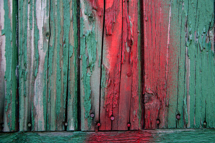 Backgrounds Colors Outdoors Paling Plank Planks Of Wood Red Textures Wood - Material Wood Grain