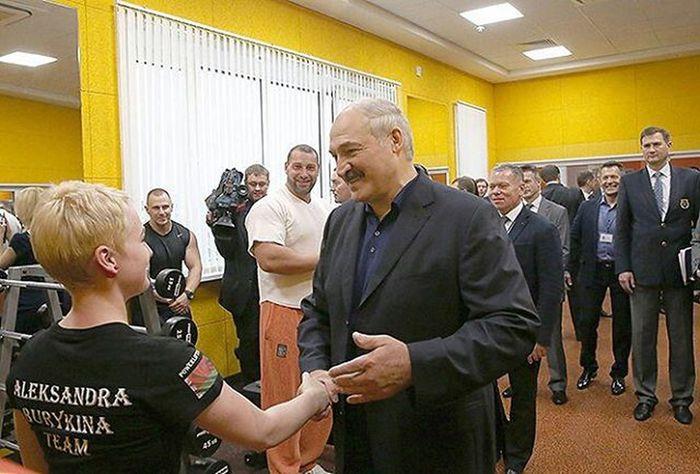 💪☝president of Belarus беларусь Gym президент Мой самый сильный Президент! ☝☝☝
