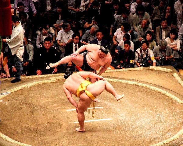 Sumowrestler Sumo Wrestling Tournament Match - Sport Sport Celebrity Arts Culture And Entertainment EyeEmNewHere