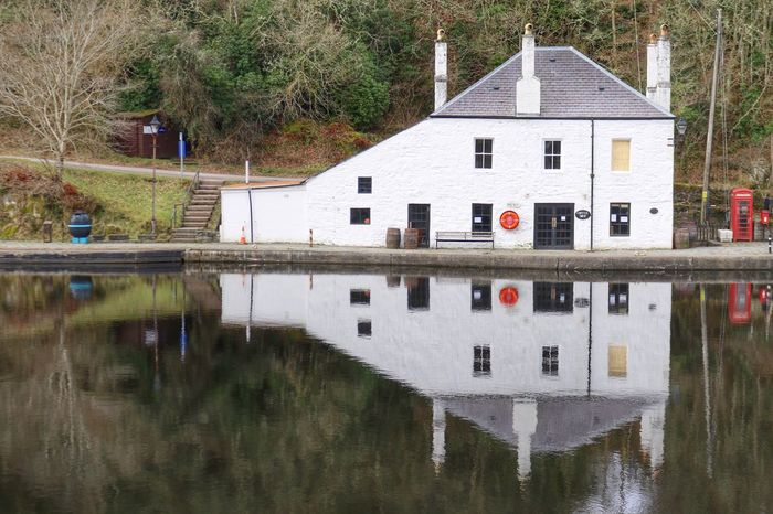 Tranquil Days Tranquil Scene Tranquility Crinan Canal Canal Scotland Showcase March Eye4photography  EyeEm Best Shots EyeEmBestPics Scotland 💕 Reflections In The Water Reflection Reflection_collection Crinan