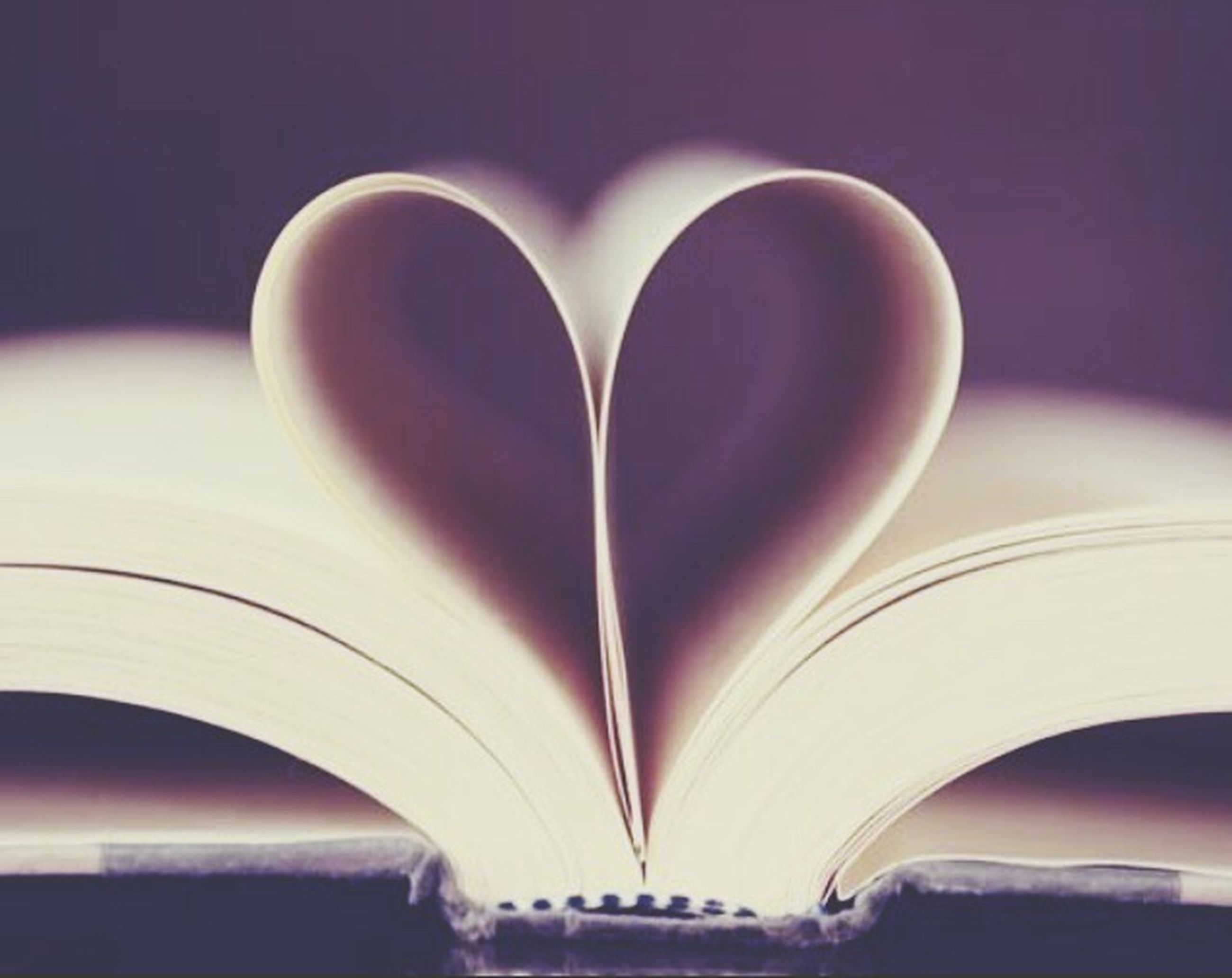 heart shape, book, love, page, education, close-up, open, romance, paper, no people, wisdom