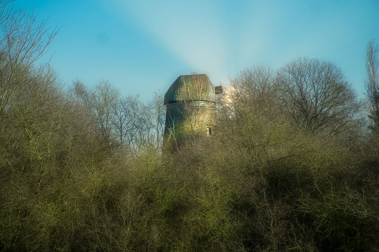 Heidbergmühle Molen Sonnenschein  Architecture Bare Tree Building Exterior Built Structure Day Low Angle View Mill Mühle Nature Naturephotography No People Outdoors Plant Sky Streetphotography Sunset Tree Colour Your Horizn