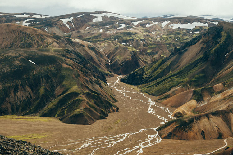 https://vradenburg.de/blog/highlands-of-iceland Iceland Beauty In Nature Beauty In Nature Day Landmannalaugar Landscape Mountain Nature No People Outdoors Physical Geography River Road Scenics Sky
