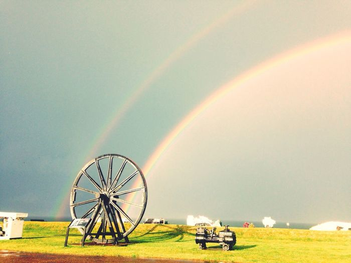 Cape Breton Nova Scotia rainbow off the Atlantic First Eyeem Photo Doublerainbow Atlantic Ocean