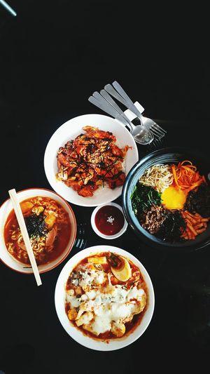 Korean Meals Korean Food Korean Bibimbap Koreanfood Jemursari Surabaya City