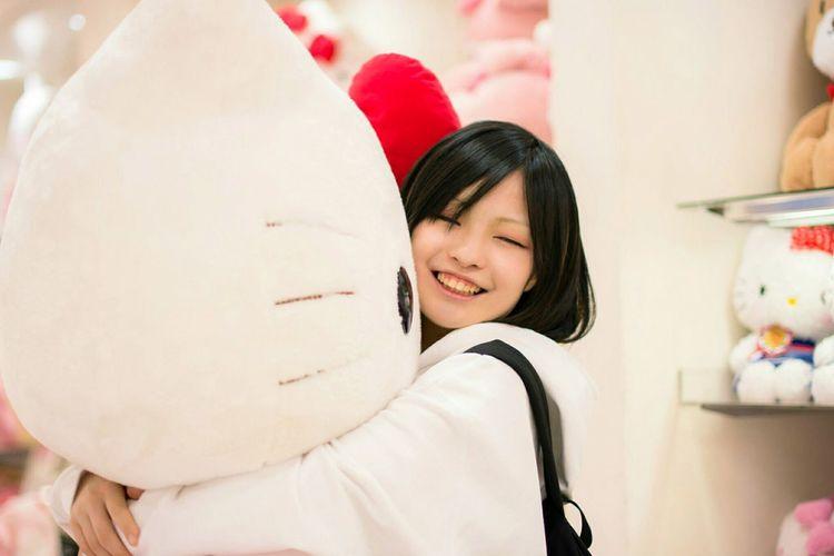 Model⇒吾朗 Portrait ポートレート Hellokitty ハローキティ サンリオピューロランド 写真好きな人と繋がりたい Japan Photography パーカー女子 Girl