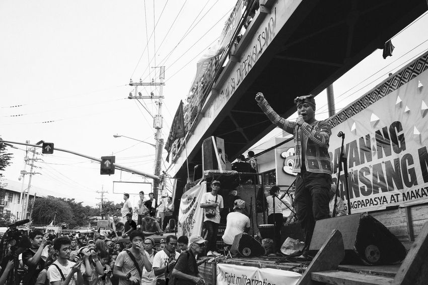 Lakbayan 2016 | Indigenous peoples fighting for their right to self-determination and just peace Real People Protest Rally Crowd Lumad Indigenous People Eyeem Philippines Photojournalism Street Photography People People Photography People Watching People Of EyeEm People And Places People Together Black And White Black & White Black And White Photography Monochrome Monochrome Photography Monochrome_life Monochrome _ Collection Monochrome_Monday Raised Fist My Year My View Resist Break The Mold
