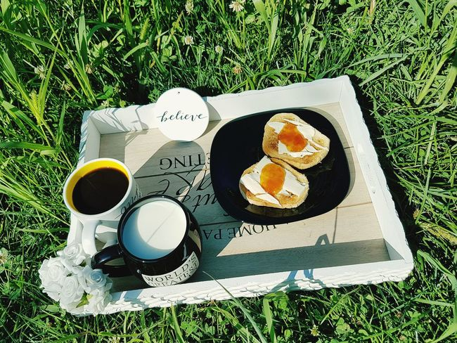 Grass Healthy Eating Toast With Butter Butter And Jam Toasted Bread Black Cup Milk In Black Cup Coffee In A White Cup Coffee And Milk Coffee Cup Of Coffee White Roses BreakfastTime  The Week On EyeEm Milk Lifestyle Breakfast In Nature Breakfast The Word Belive Belive Old Fashion Style Food And Drink EyeEmNewHere Cup Of Milk Quality Perspectives On Nature Food Stories