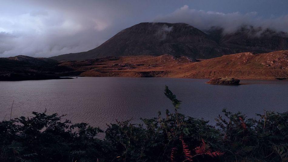 Mountain Range Mountains Cloudy Outdoors Nexus 5x Beauty In Nature Nature Scotland Scotland In Summertime Scotland's Scenery