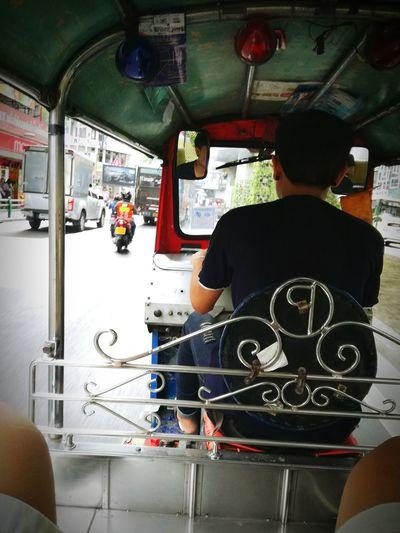 Tuktuk in Bangkok Thailand. Travel Destinations Travel Photography P9LitePhilippines