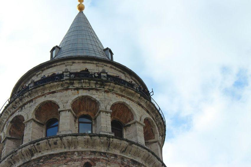 Türkiye Photoday Istanbul Karaköy Tbt ❤ Spring Galata Tower Blue City No People Colors Nature