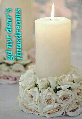 Candle Light Rose🌹 Gdnyt✨💕 Flowerlovers Working My Work Flowerslovers Good Night N Sweet Dream Flowermagic Rosé