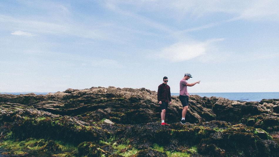 Adventure Adventure Buddies Beach Casual Clothing Cornwall Cornwall Uk Explore Exploring Exploring New Ground Holiday Horizon Over Water Leisure Activity Looe Looe Beach Model Models Ocean Rock Rock Climbing Sea Sea And Sky Sky Travel Photography Traveling Vacation