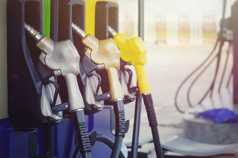 Close-up of gasoline