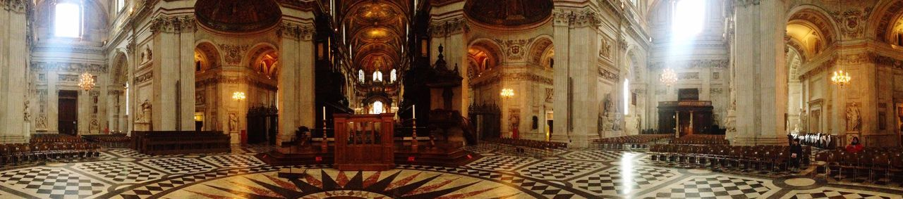St Paul's Cathedral Church Relaxing Religion Panorama
