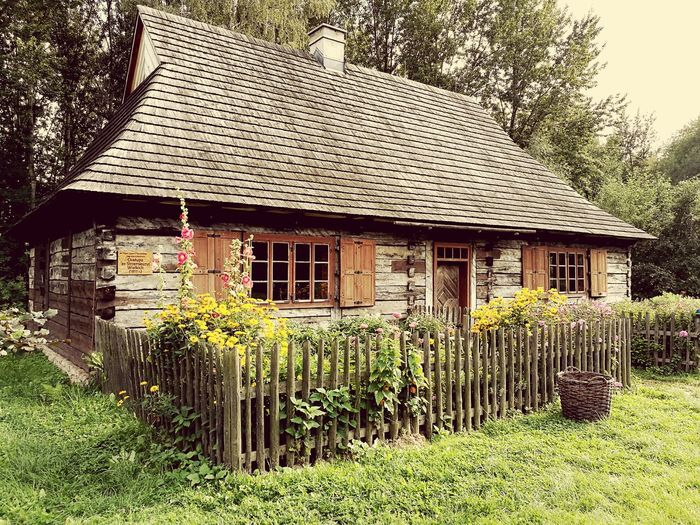 Cottage Polish Wooden Home Polish Wooden Home From 19th Century Wooden House