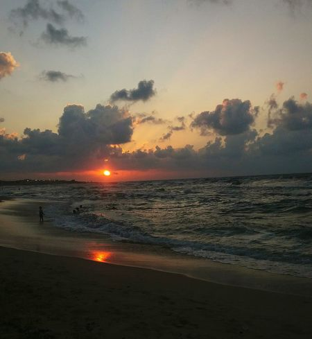 Sunset Sea And Sky Sea Misurata Clouds Clouds And Sky