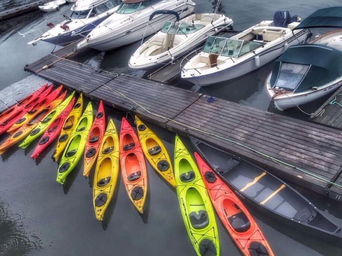Kayak Boat CarolSharkeyPhotography Maine