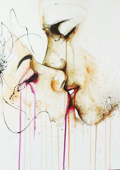 Goodbye Kiss Art Popular Photos OpenEdit BestEdits #notmine #allrightstojayfreestile