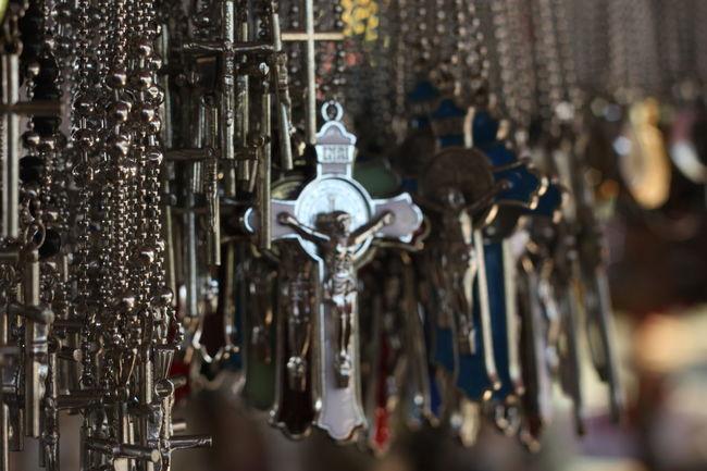 Faith Christianity Divine Mercy Shrine Cagayan De Oro City Metal Close-up